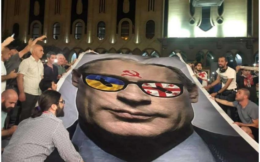 Tbilisidə etiraz aksiyası iyunun 26-da davam etdiriləcək - YENİLƏNİB-2