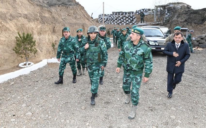 На участке госграницы с Арменией сдана в пользование новая воинская часть ГПС Азербайджана