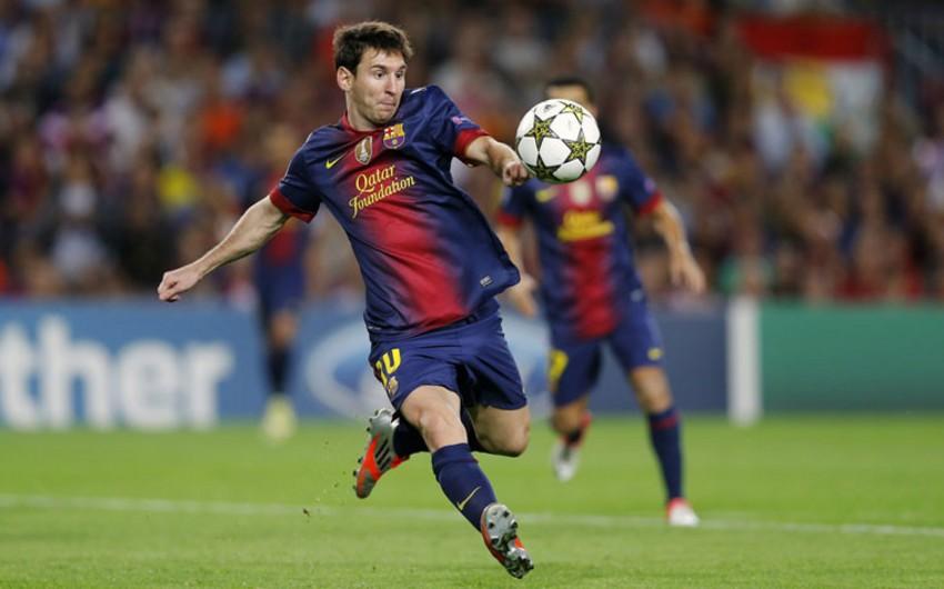 Messi İspaniya çempionatları tarixində ən yaxşı bombardir oldu