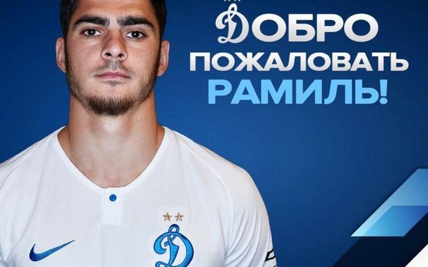 Ramil Şeydayev Moskva klubu ilə müqavilə bağlayıb