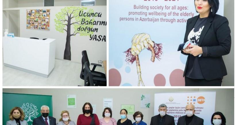 """""""Kapital Bank""""ın dəstəyi ilə daha bir """"YAŞA"""" mərkəzi fəaliyyətə başlayıb"""
