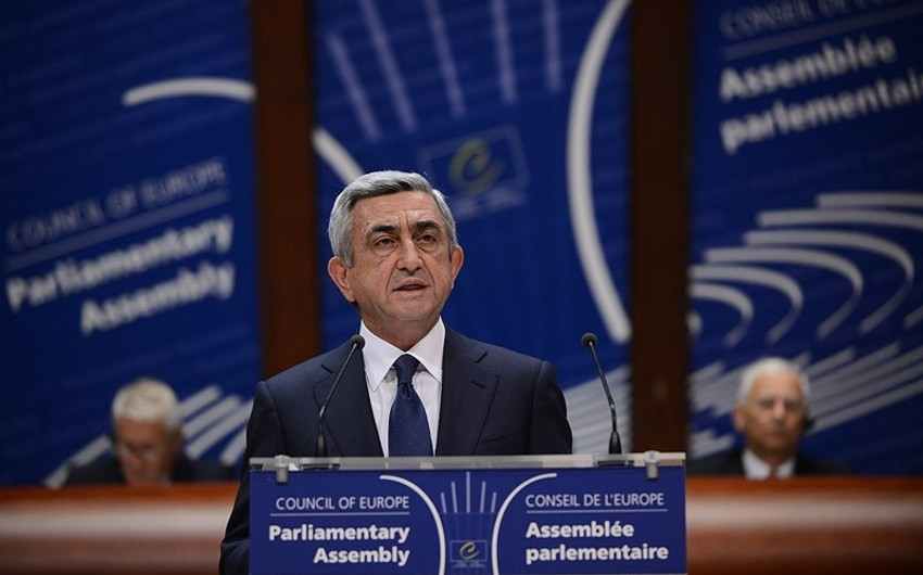 Serzh Sargsyan's speech at PACE - 'It's useless to keep documentation with Armenians'- COMMENT