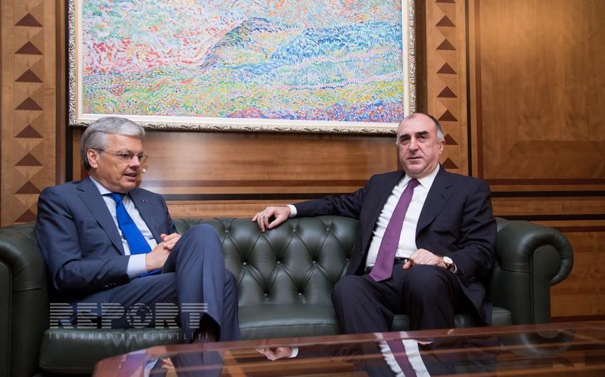 Главы МИД Азербайджана и Бельгии обсудили нагорно-карабахское урегулирование