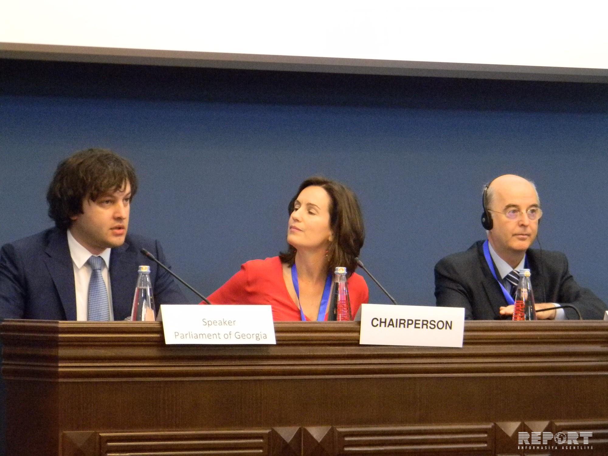 Milli Məclisin komitə sədri AŞPA-nın Tbilisidə keçirilən iclasında iştirak edir