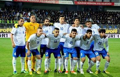 Обнародован состав команды соперников сборной Азербайджана по футболу