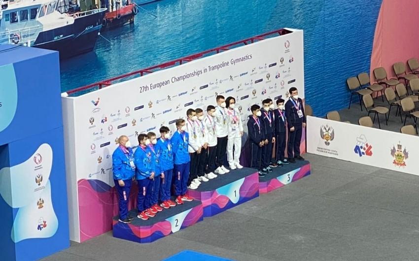 Avropa çempionatı: Azərbaycan komandası ilk medalını qazandı - YENİLƏNİB