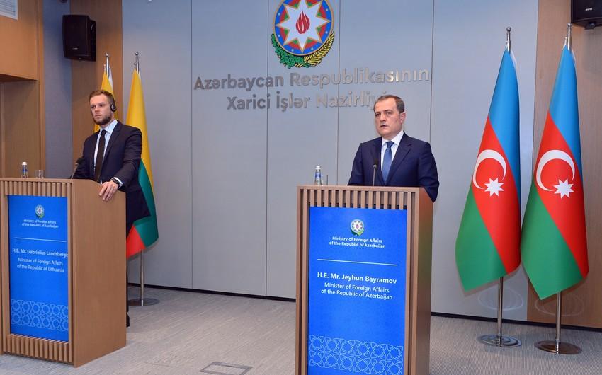 Nazirlik Azərbaycan və Litva XİN başçılarının görüşü barədə məlumat yayıb