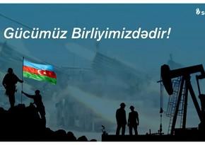 SOCAR-ın şirkəti Silahlı Qüvvələrə Yardım Fonduna 17 milyon manat ianə edib
