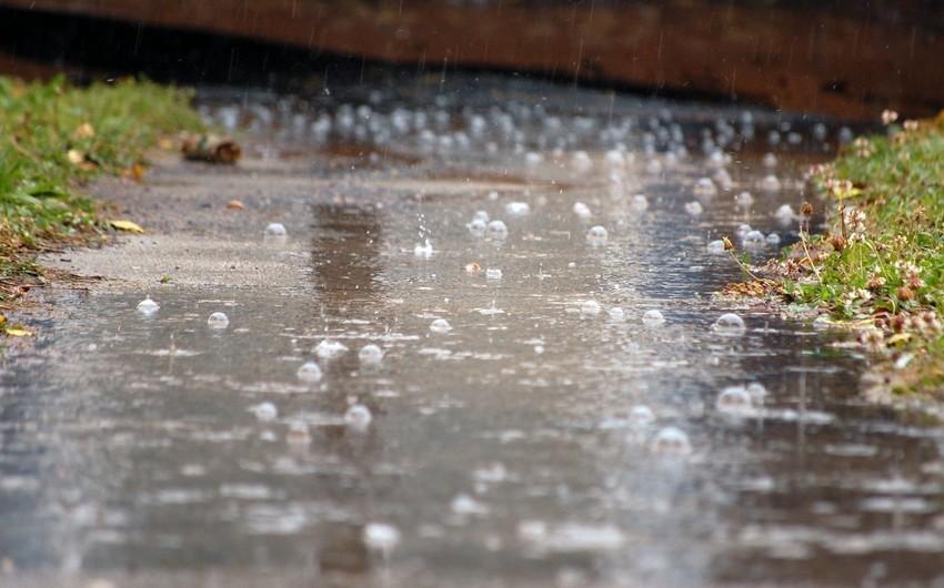 Sabah Bakıda yağış yağacaq, güclü külək əsəcək