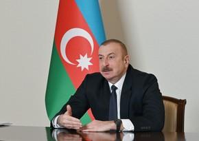 Ильхам Алиев: Программа, объявленная мною после президентских выборов, выполняется