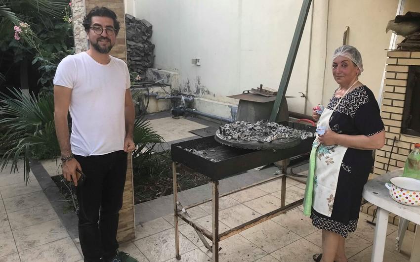 Türkiyənin tanınmış bloqqeri Azərbaycanı dünyaya tanıdır - FOTOLAR