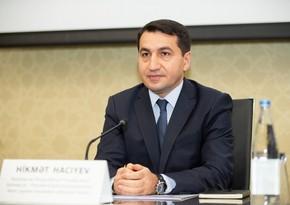 Prezidentin köməkçisi: Azərbaycan və Türkiyə əməkdaşlığı heç kimə qarşı yönəlməyib