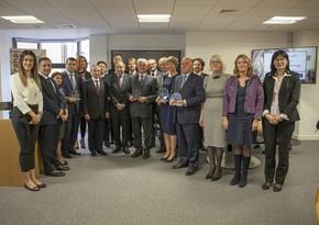 Члены жюри, президент CEPEJ и представители инициатив