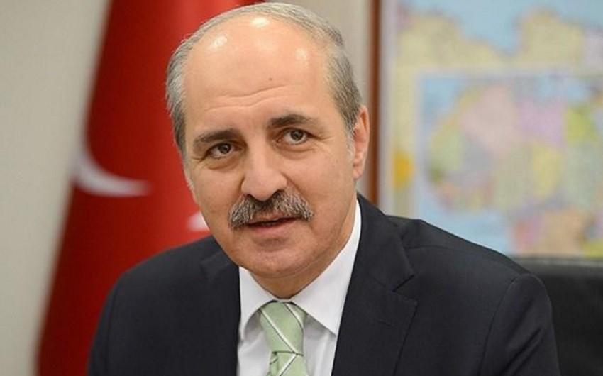 Türkiyə baş nazirinin müavini partiyaları terrora qarşı vahid bəyanatla çıxış etməyə çağırıb