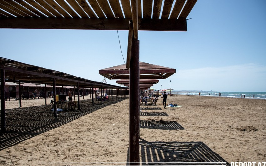 Which beaches are usable in Baku?