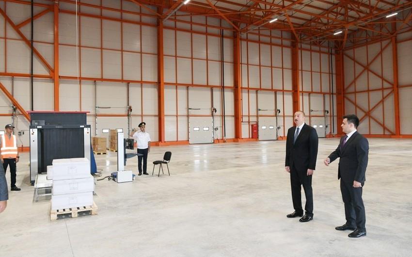 Prezident İlham Əliyev Abşeron Logistika Mərkəzinin açılışında iştirak edib - YENİLƏNİB