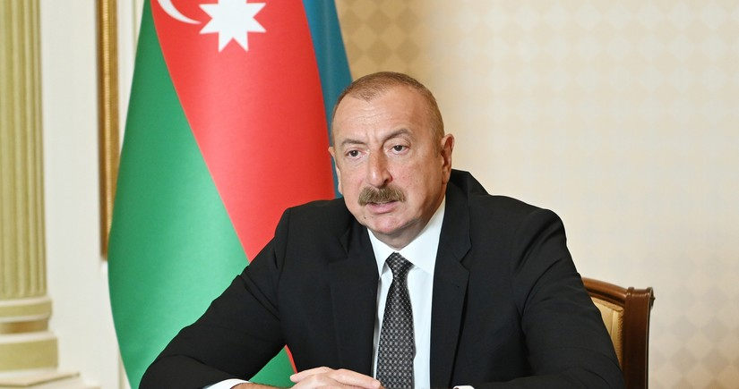 Aliyev: Statements reeking of revanchism, are very dangerous, first of all for Armenian side
