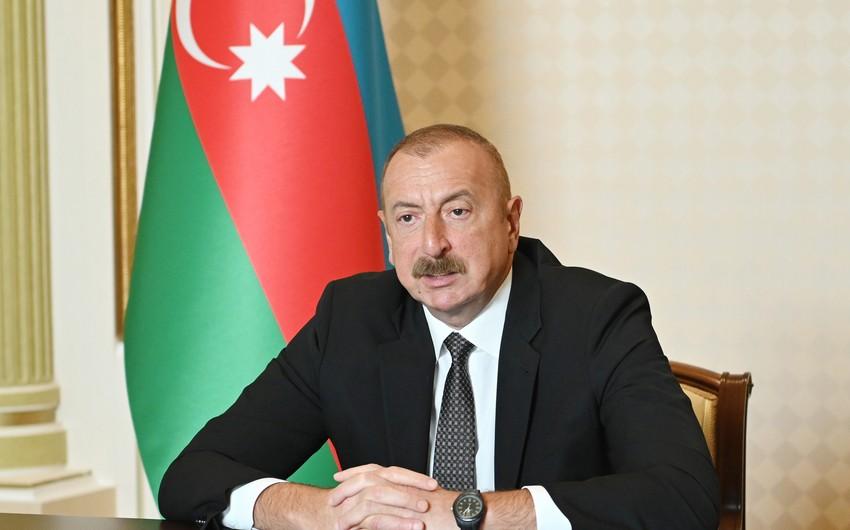 Azərbaycan lideri: Bizi qəzəbləndirməsinlər, qıcıqlandırmasınlar, təklifimizlə razılaşsınlar
