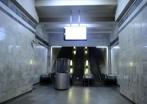 Metronun Həzi Aslanov stansiyasında eskalator əsaslı təmir edilib