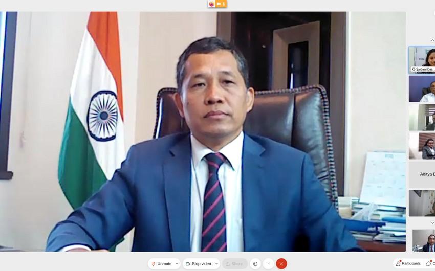 Hindistan səfirliyi telekommunikasiya sektoru ilə bağlı görüş təşkil edib