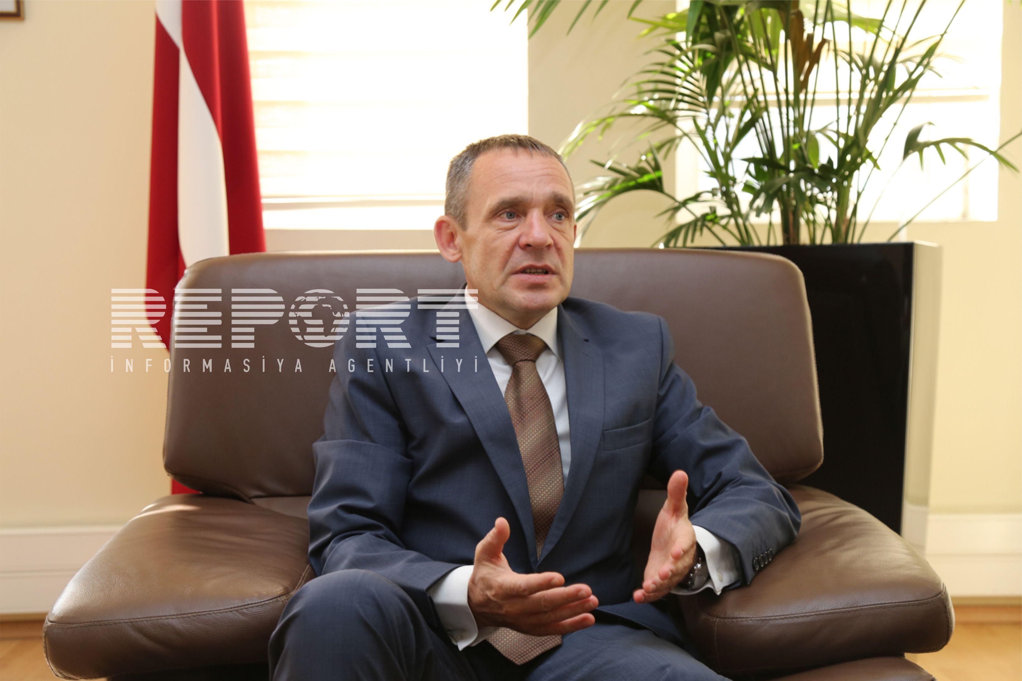 Посол Латвии отбудет из Азербайджана в июле
