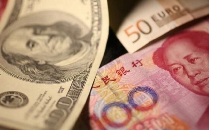 Çinin valyuta ehtiyatları artıb