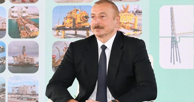 Prezident: Neft bizim üçün məqsəd deyil, daha yaxşı həyat yaratmaq, daha yaxşı ölkə qurmaq üçün vasitədir