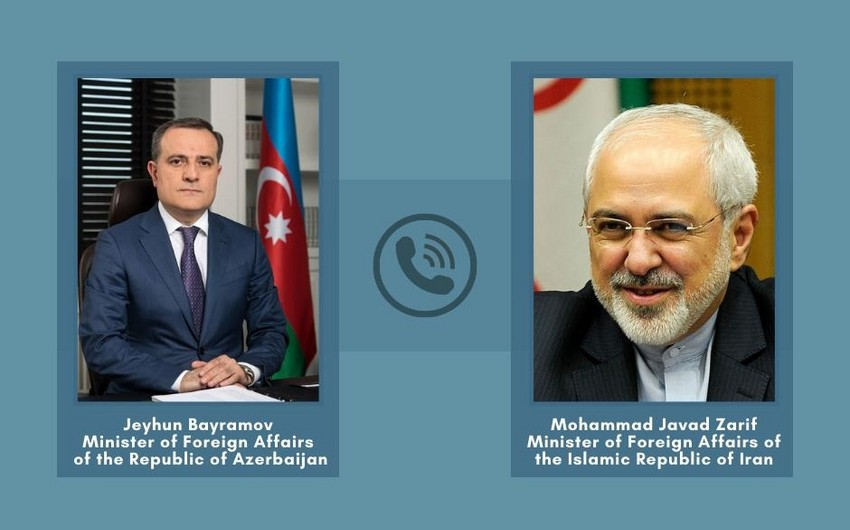 Джейхун Байрамов выразил соболезнования иранскому коллеге