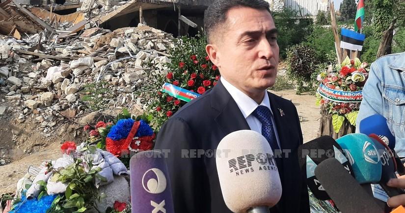 """ƏIi Hüseynli: """"Ermənistan müharibənin ilk günlərindən qadağan olunmuş silahlardan istifadə edib"""""""