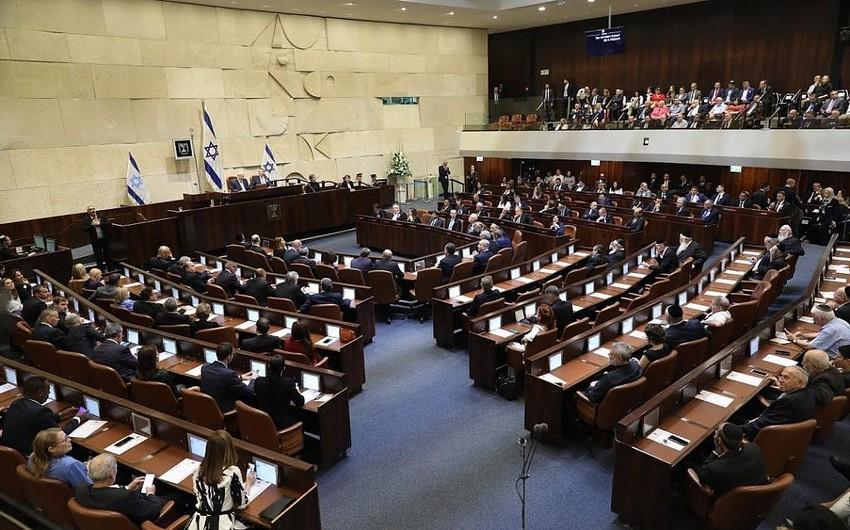 İsrail Knesseti özünü buraxmaq qərarına gəlib