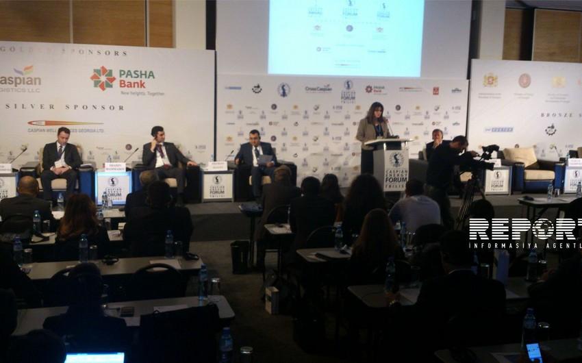 Tbilisidə Beynəlxalq Xəzər Enerji Forumu başlayıb - YENİLƏNİB