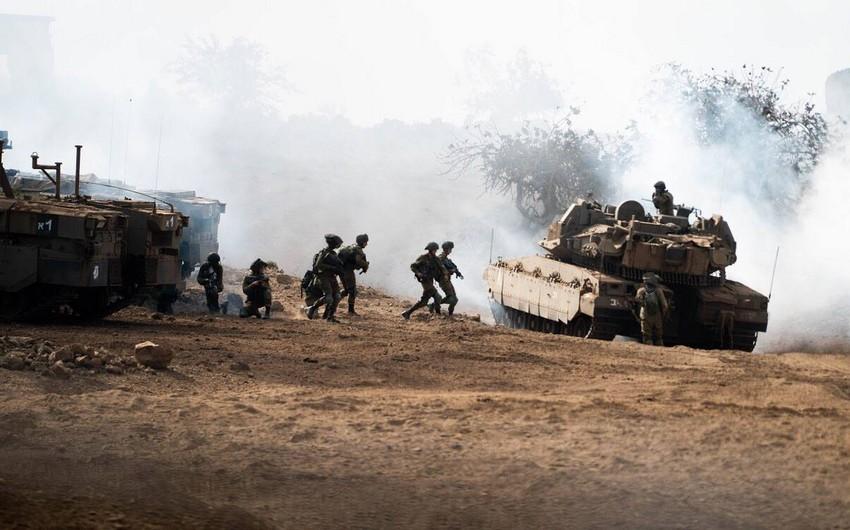 İsrail tankları Qəzza zolağına zərbələr endirdi
