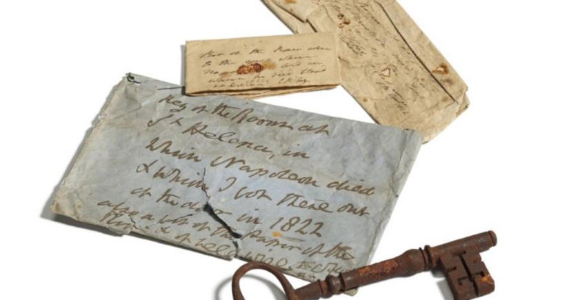 Napoleonun öldüyü otağın açarı 112 min ABŞ dollarına satıldı