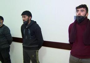 Suraxanıda dövlət mülkiyyətini oğurlayan dəstə üzvləri saxlanılıb