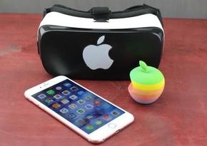 Apple разрабатывает шлем виртуальной реальности