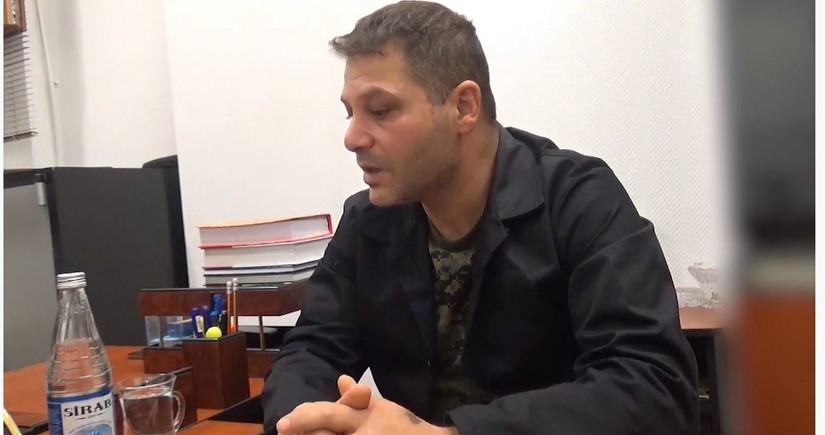 Livanlı muzdlu-terrorçu DTX tərəfindən məsuliyyətə cəlb edildi