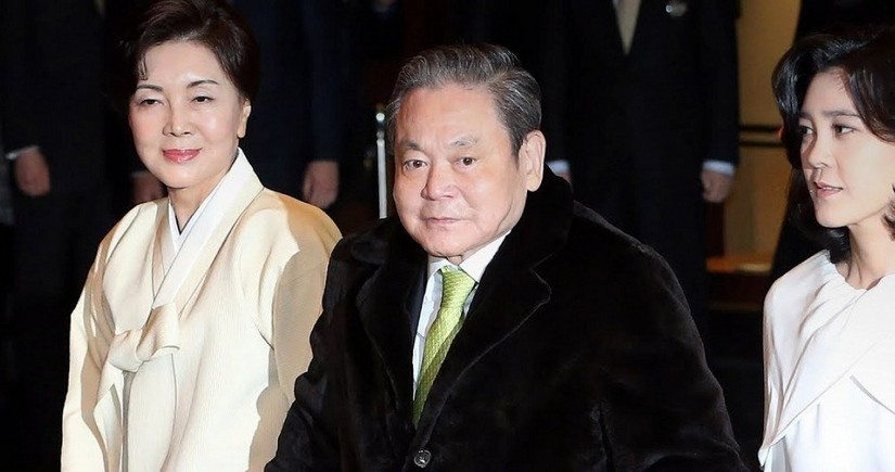 Наследники главы Samsung заплатят рекордно высокие налоги