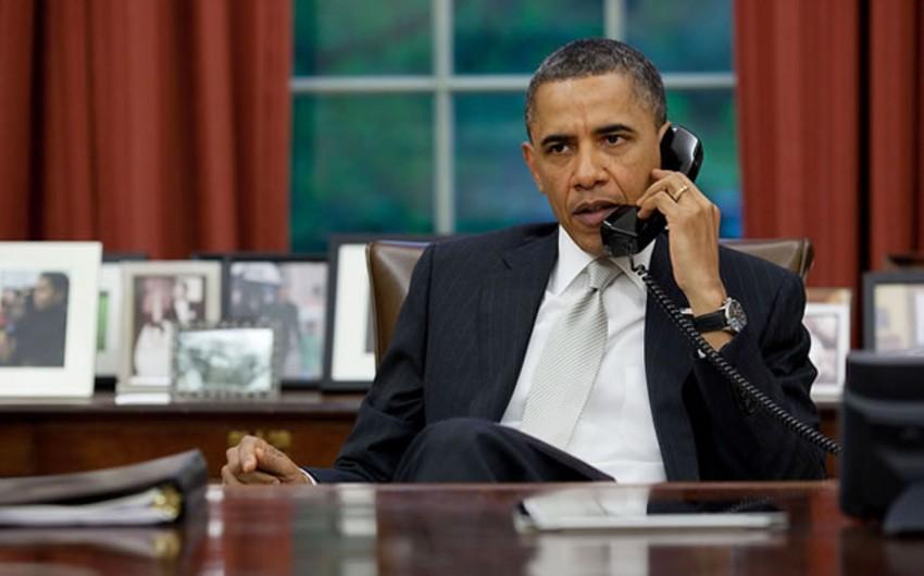 Obama Səudiyyə Ərəbistanının kralı ilə Yəməndəki vəziyyəti müzakirə edib