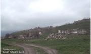 Footage from Fuzuli's Yukhari Rafadinli village destroyed by Armenians