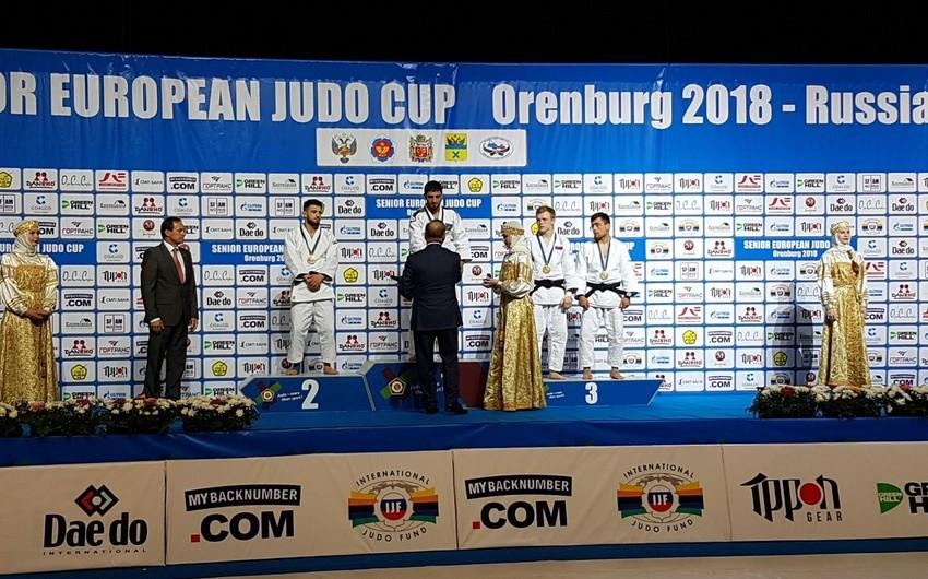 Azərbaycan cüdoçuları Avropa kubokunda 2 medal qazanıblar