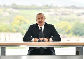 Prezident: Azərbaycan müstəqilliyin ilk illərində çoxsaylı təhlükələrlə üzləşmiş, ağır sınaqlardan keçmişdir