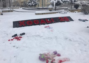 В связи с 29-й годовщиной Ходжалинского геноцида организован флешмоб