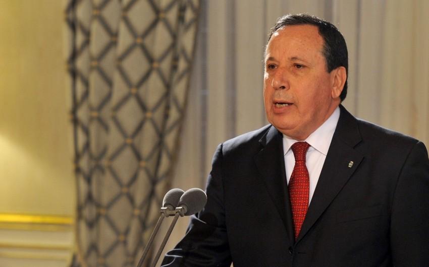 Tunisin XİN başçısı: Dağlıq Qarabağ münaqişəsi sülh yolu ilə həll edilməlidir