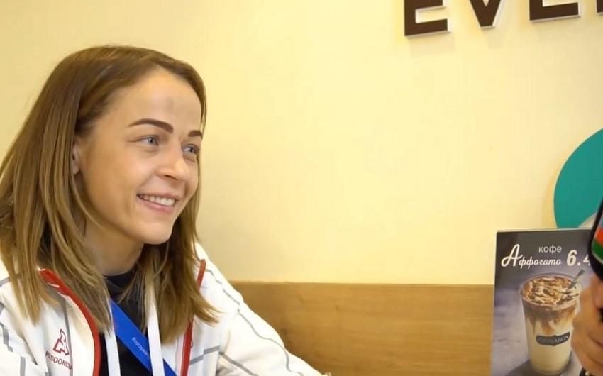 """Mariya Stadnik: """"London olimpiadasından sonra karyeramı bitirəcəyimi düşünürdüm"""" - VİDEO"""