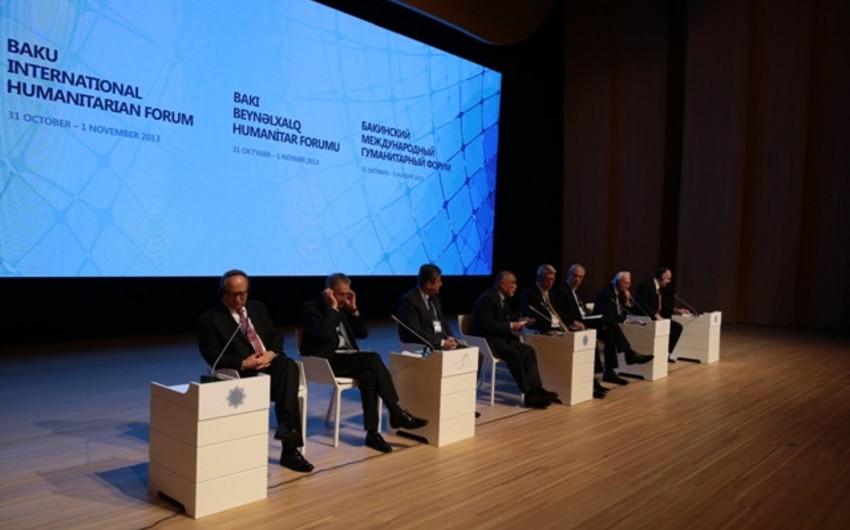 IV Bakı Beynəlxalq Humanitar Forumunun keçiriləcəyi tarix açıqlanıb
