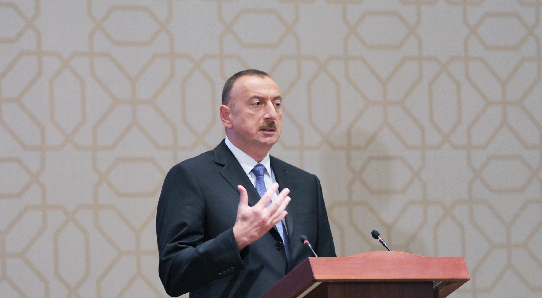 Президент: В Азербайджане обеспечиваются основные свободы, в том числе религии, прессы и свободы слова
