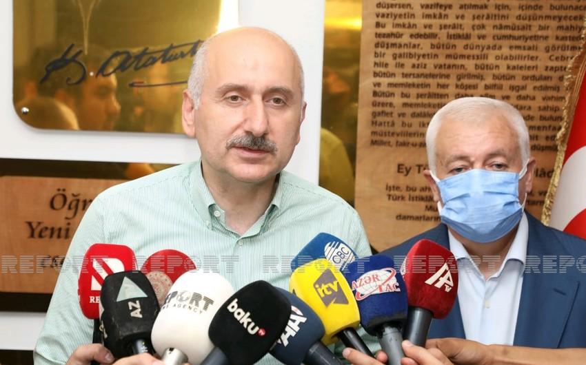 Турецкий министр прокомментировал поддержку Азербайджана в тушении лесных пожаров