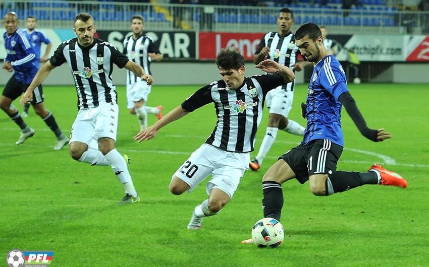 Bu gün futbol üzrə Azərbaycan Kubokunda 1/4 final oyunları keçiriləcək