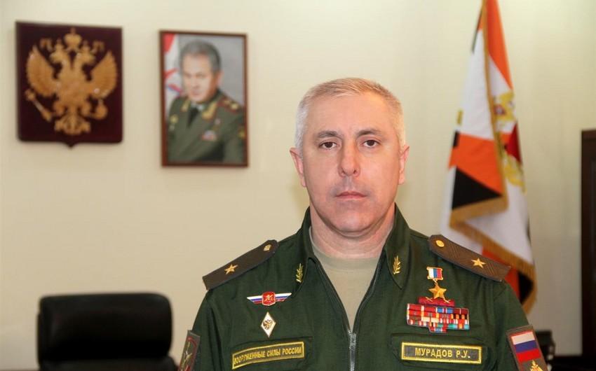 Rusiya sülhməramlılarının komandanı Rüstəm Muradovun missiyası başa çatır