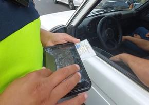 Şəmkirdə qaydaları pozan 27 sürücü barəsində protokol tərtib edilib